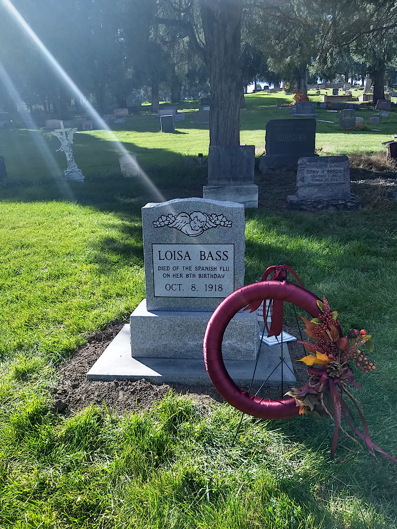 Loisa Bass Headstone